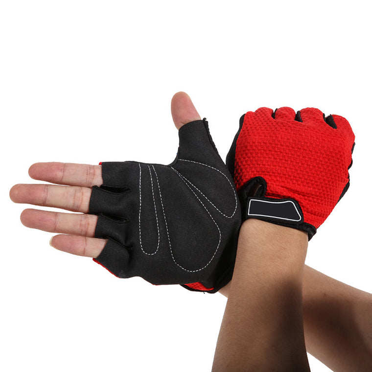 Unisex Cycling Gloves Half Finger Gel Palm MTB Road Bicycle Bike Gloves Breathable&Elastic Motocross Gloves Guanti MTB