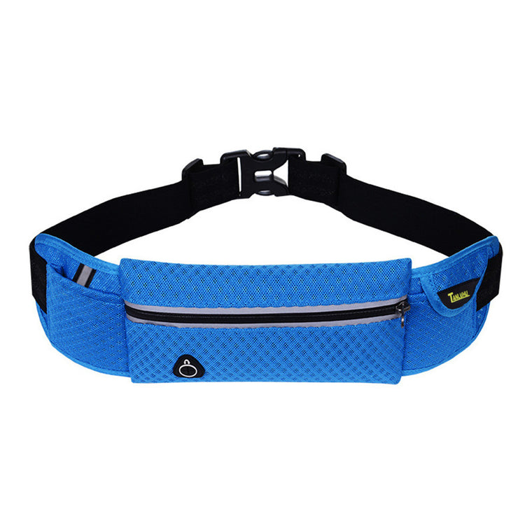 Portable Women Travel Waist Belt Bag Solid Color Nylon Bicycle Men Waist Bag Tool Drop Leg Fanny Pack Waist Bag