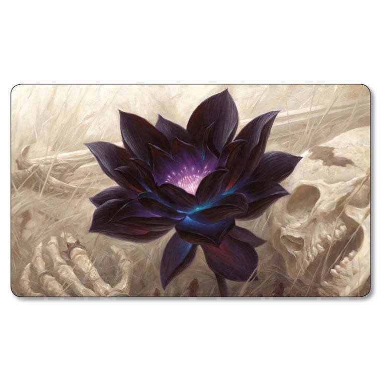 ( Black Lotus Playmat) Limited Edition 35X60CM Magical Playmat The MTG Card Game Gathering Playmat with Free Gift Bag