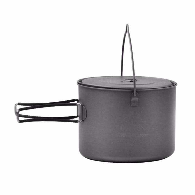 TOAKS POT-1600-BH Titanium 1600ml Pot with Bail Handle