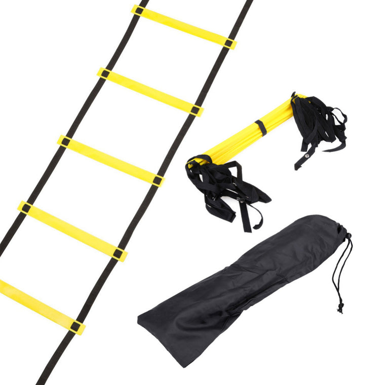Newest 10 Rung 15 Feet 5M Agility Ladder for Soccer Speed Football Fitness Feet Training Equipment  For Man or Woman