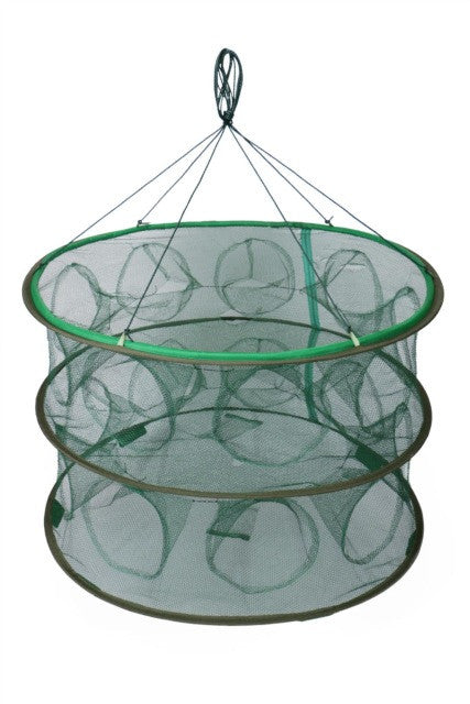 Portable Automatic-Open Fishing Cages Collapsible Fishing Nets Folding Shrimp Cage Fishing Tackles  Shrimp Net Cage Tools