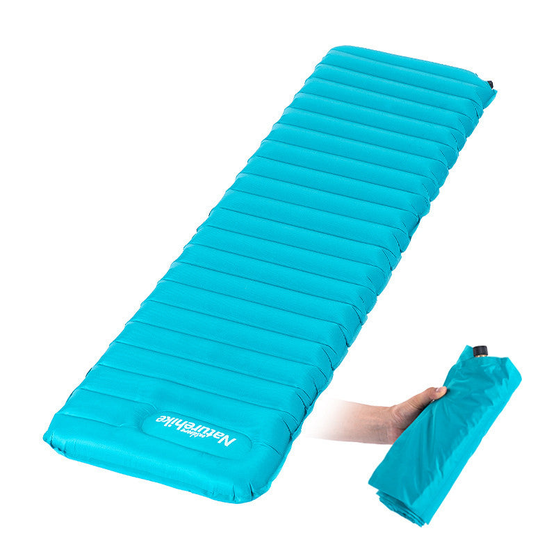 Naturehike Camping Moisture-proof Pad Manually Inflatable Cushion Tent Mat Outdoor Air Mattress  NH15T051-P/NH15T052-P