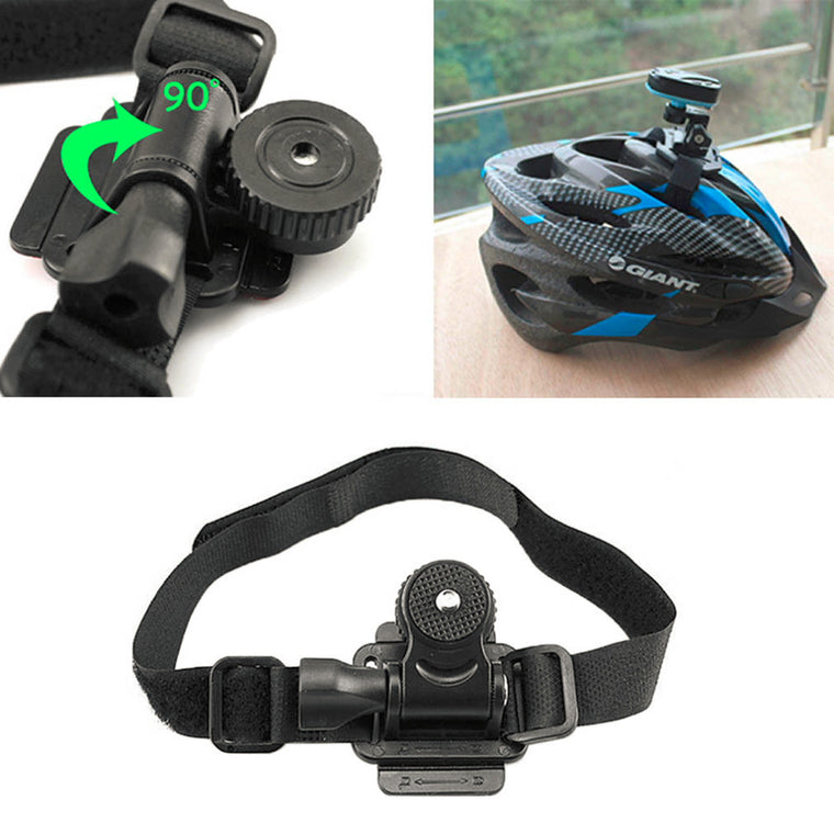 New Arrival Bike Helmet Camera Mount Bicycle Holder for Mobius ActionCam Sports Camera Video DV DVR