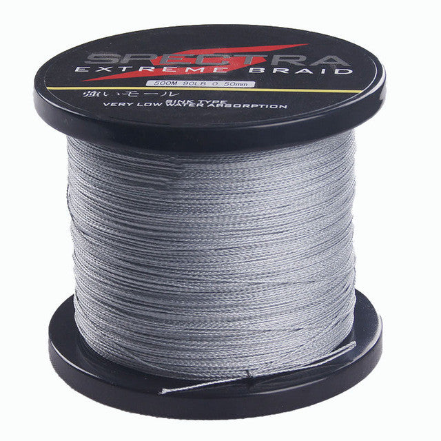500m Super Strong Japan Multifilament PE Braid Fishing Line 6LB 8LB 10LB 15LB 20LB 30LB 40LB 50LB 60LB 70LB 80LB 90LB 100LB
