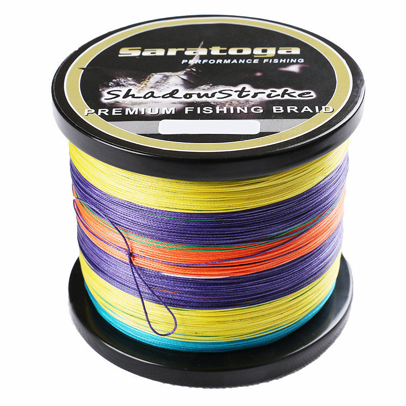 "Top Quality ""Saratoga"" 8 Strands Braided Fishing Line 1000m 6lb 8lb 10lb 15lb 20lb 30lb Multifilamnet Fishing Wire"