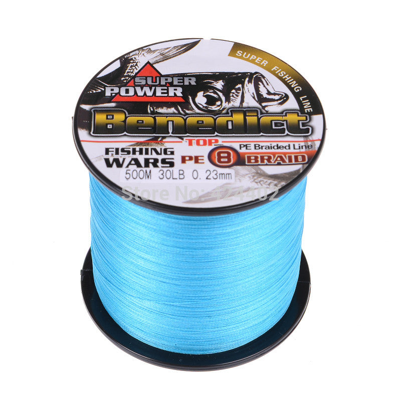 500M Brand new Super Strong Japan Multifilament PE Braided Fishing Line fishing tool fishing rope fishing braid 8 strands