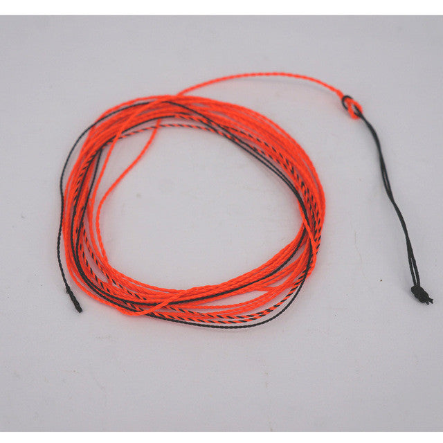 12FT 25LB Tenkara Fishing furled Braided Leader Thread Indicator Tip Furled Leader