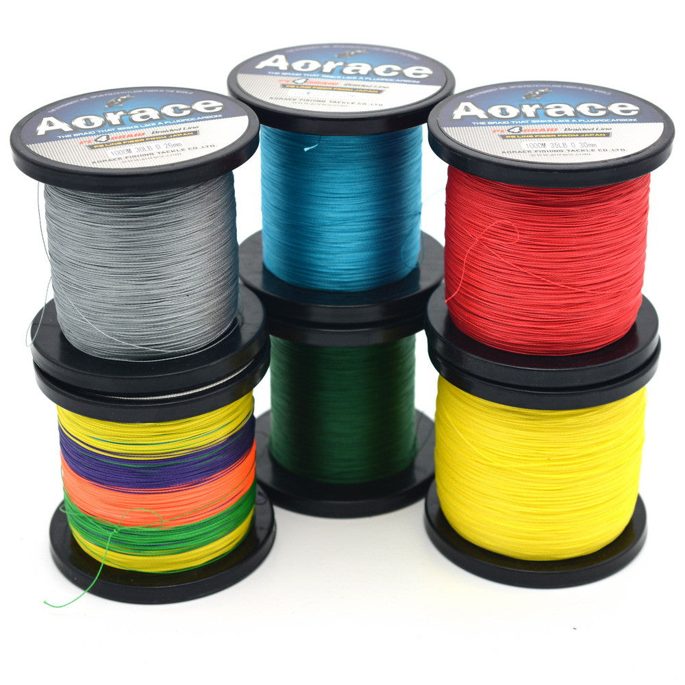 1000m Braided Fishing Lines Extreme Strong Braided Fishing Line Super Strong Linha Multifilamento Para Pesca 8LB-90LB