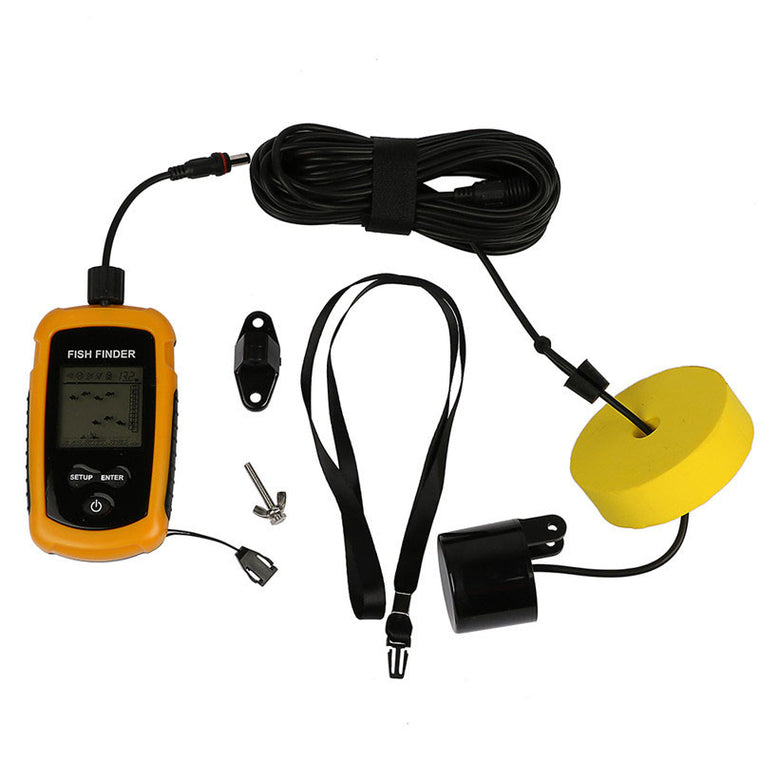 Hot sales Outdoor Sport Portable Electronic Fish Finder Depth Water Fishing Lure Echo Sounder Fishing Tackle 0.7-100M Origin Chi