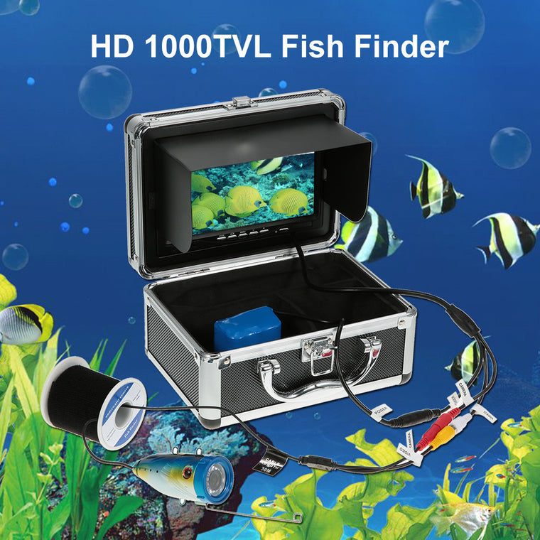 Underwater Fishing Camera Fishing Equipment Fishing Camera Fishfinder Digital LCD Fish Finder  HD 1000TVL Wide Angle 12LED