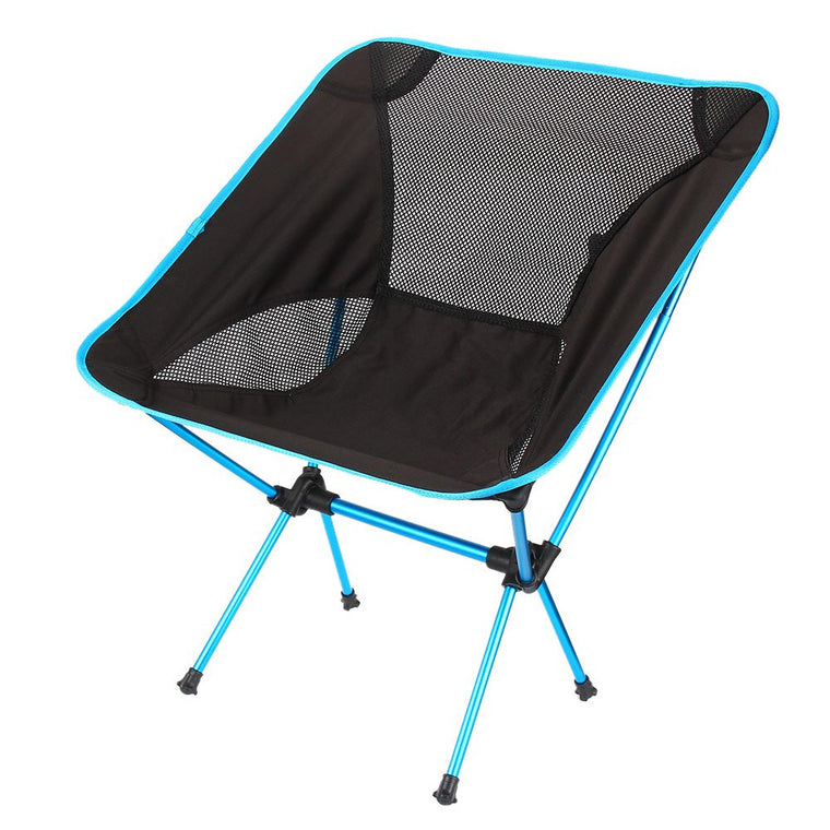 Hot Sale Lightweight Folding Camping Stool Seat Chair 4 Colors Portable Hiking Chair For Fishing Picnic Beach Party With Bag