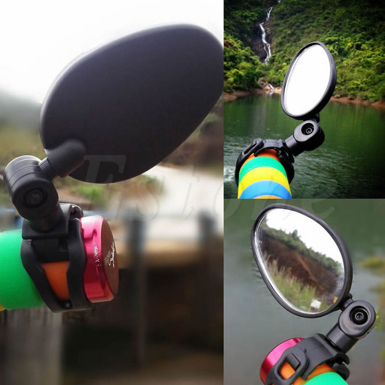 Cycling Universal MTB Handlebar Mirror 360C Rotate Bike Bicycle Rearview