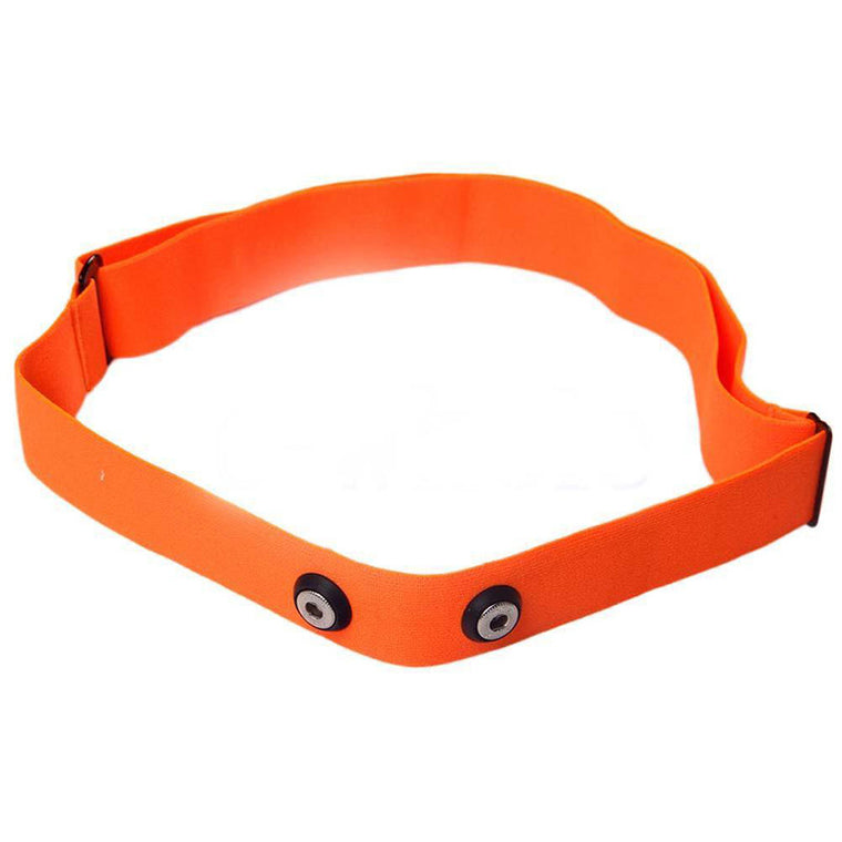 Orange Heart Rate Chest Belt Elastic Belt Strap Band for Garmin Wahoo Polar Sport Running Heart Rate Monitor for Bluetooth 4 0
