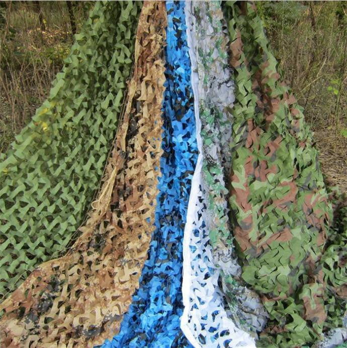 VILEAD 9 Colors 1.5M*10M protective Camouflage Netting Camo net  for military shelter beach tent garden tent camping shelter