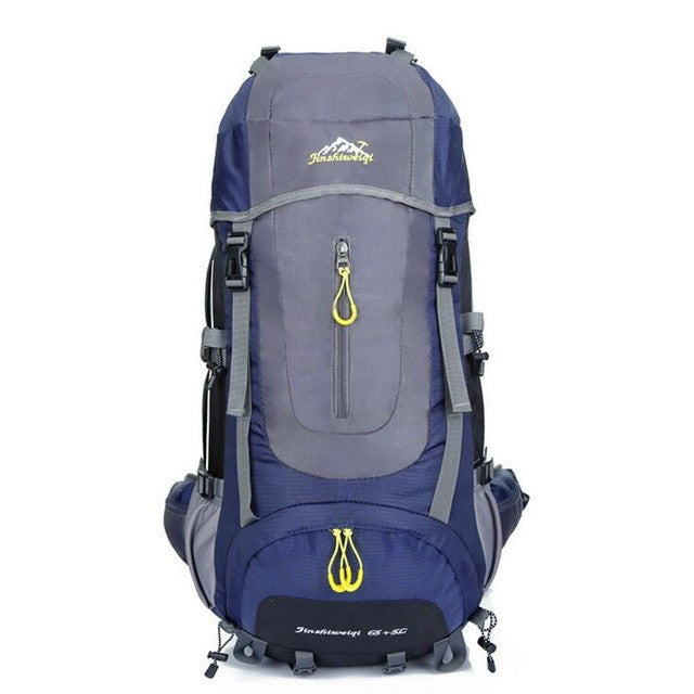 60L Brand quality outdoor waterproof nylon backpack men travel sports bag packs large capacity rucksack bags knapsack hiking D08