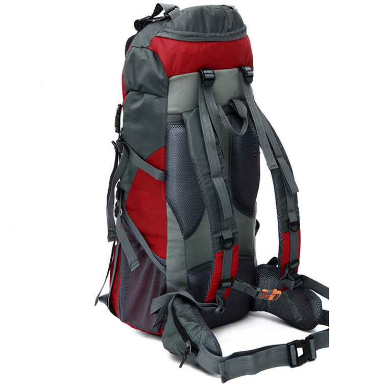 70l Professional Climbing Bag Nylon Material Unisex Travel Hiking Outdoor Long Distance Camping Backpack