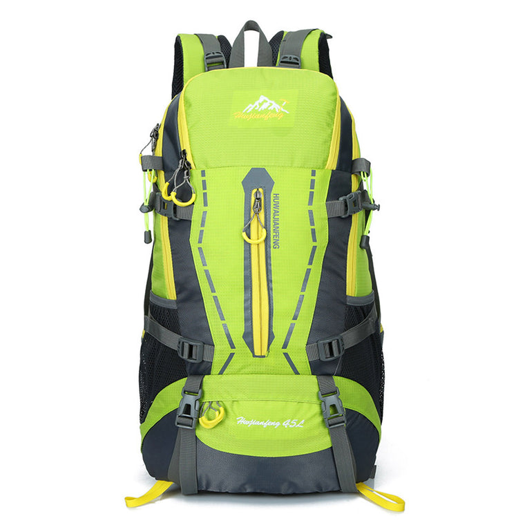 Outdoor climbing tourism backpack men women sports bag hiking travel backpack 45L waterproof rucksack Computur Bags