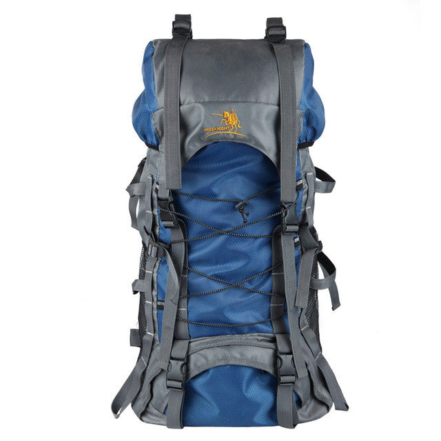 Outdoor Backpack 70L Outdoor Water Resistant Sport Backpack Hiking Bag Camping Travel Pack Mountaineer Climbing Sightseeing Hike