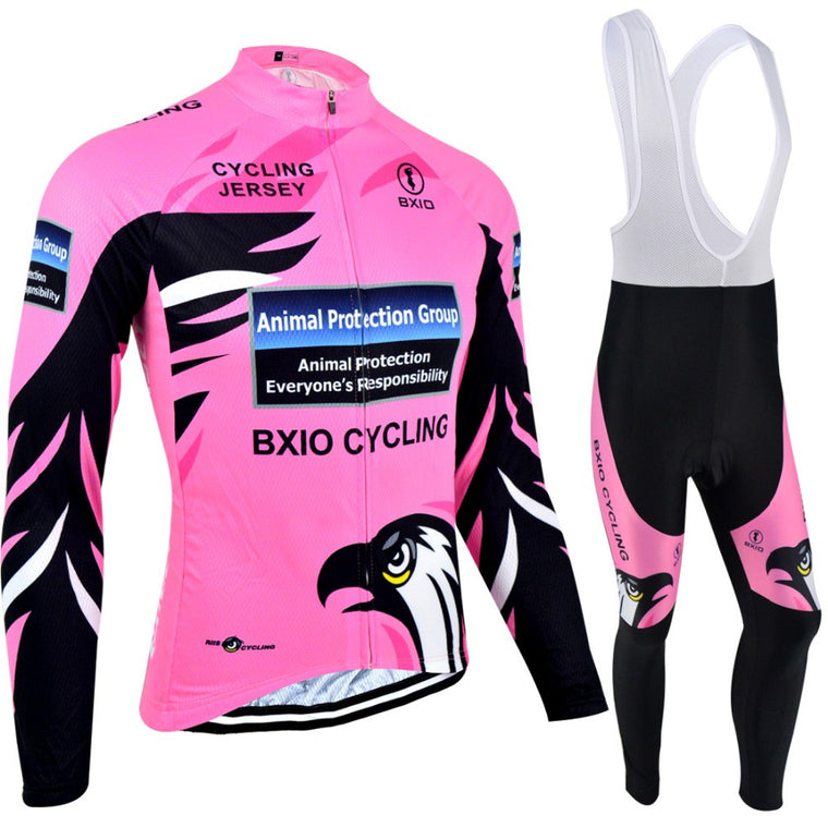 BXIO Winter Thermal Fleece Maillot Cycling Jerseys Sets Bicycle Wear/cycling Ropa Ciclismo Bike Sportswear Clothing BX-0109R067