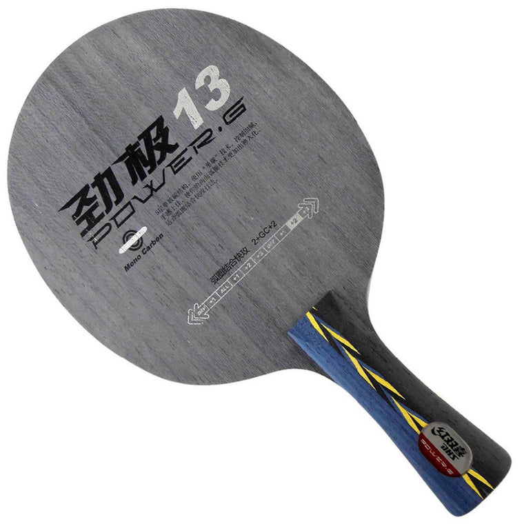 G13 PG13 PG 13 PG.13 Mono-Carbon OFF++ Table Tennis Blade for Ping Pong Racket