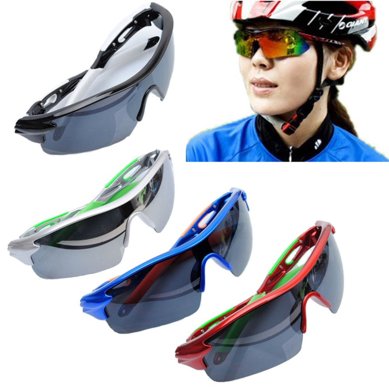 Professional Sunglasses Outdoor Sport Cycling Bicycle Riding Sunglasses Eyewear Goggle UV400 Lens Promotion