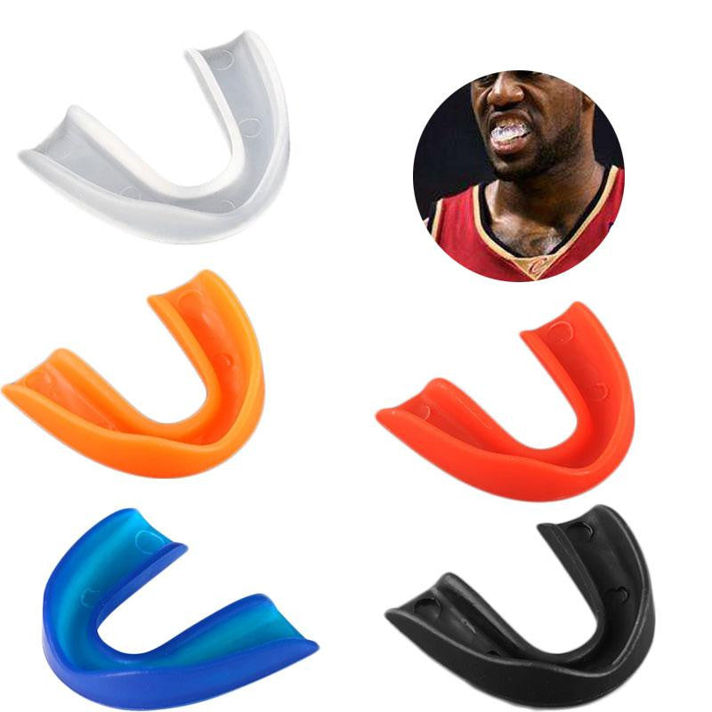 Adult Mouthguard Mouth Guard Teeth Protect For Boxing Sports MMA Football Basketball Karate Muay Thai Safety Multicolor