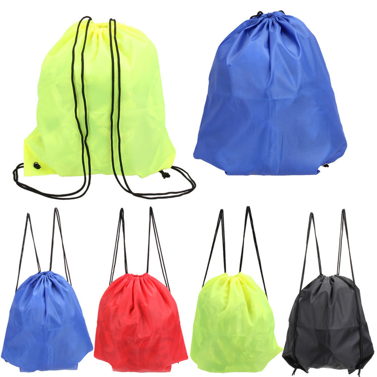 Drawstring Storage Bag Oxford Fabric Laundry Shoe Travel Pouch Tote Drawstring Storage Bag Organizer Waterproof Storage Bag