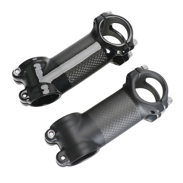 Road Bike Stem 31.8 Angle 17 Angle 6 Carbon Aluminum Bicycle Stem Carbon Mountain Bike Stem MTB Stem Glossy Matte Bicycle Parts
