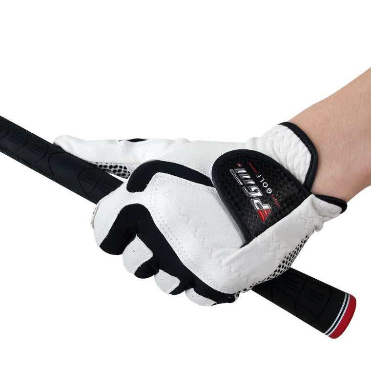 New Men's Golf Glove Left Hand Gloves Anti-skid Particles Breathable Small Hole