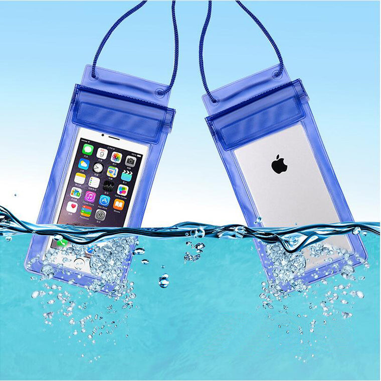 Men Women Outdoor Mini Swimming Waterproof Case Bag Underwater for Phone iphone 7 plus 7 Colors