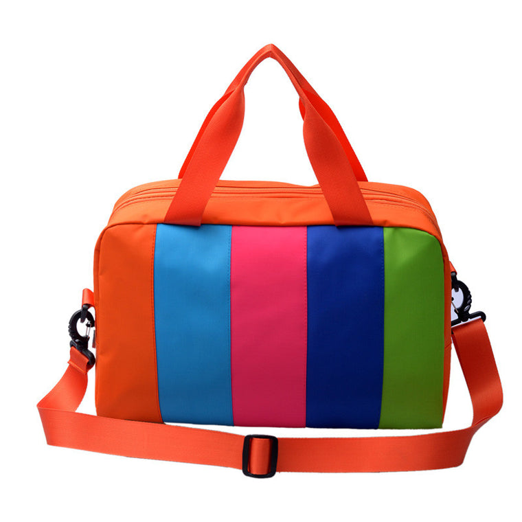 Professional Unisex Swimming Bag Combo Dry Wet Handbag Big Capacity Children Beach  Swimsuit Storage Bag Miced Color  Sports Bag