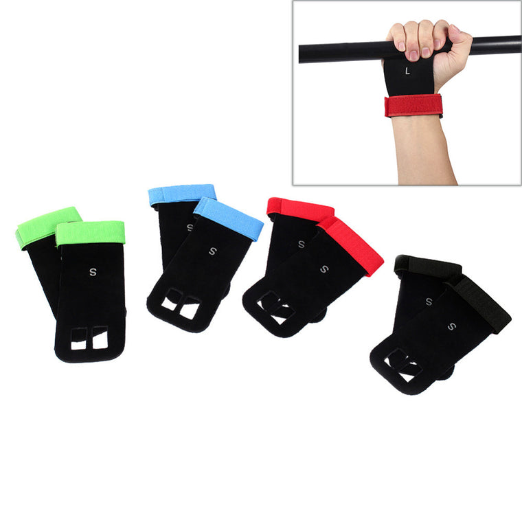 Artificial Leather Gymnastics Grip Gloves Weight Lifting Glove Gymnastics Grip Pad Hand Grip Guard Palm Protectors