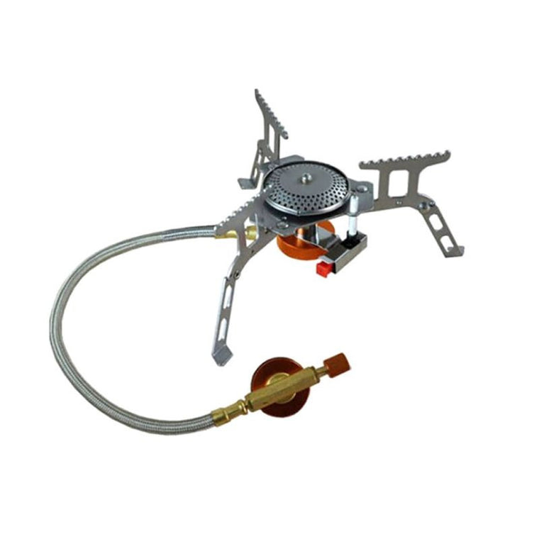 Outdoor Portable Folding Gas Stove Camping Hiking Picnic 3500W Igniter Gas Stoves Camping Equipment
