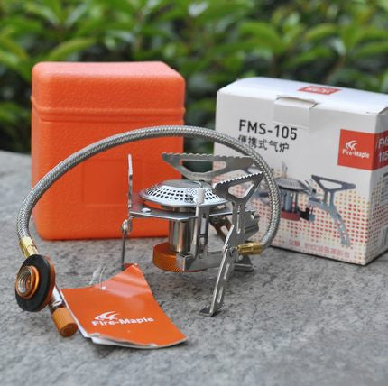 Fire Maple FMS-105 Camping Stainless Steel Gas Stove 2600W Outdoor Portable Foldable Stove Igniter 246g Free Shipping