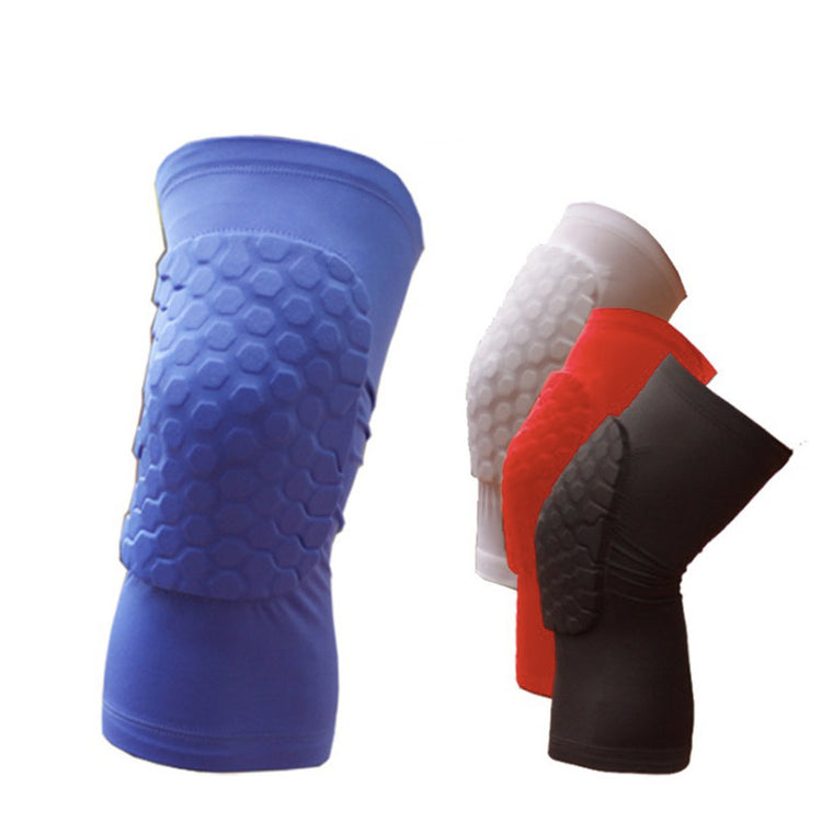 Leg Warmers The cellular basketball kneepad Summer sun protection ride Leggings 2colors soft material knee guard
