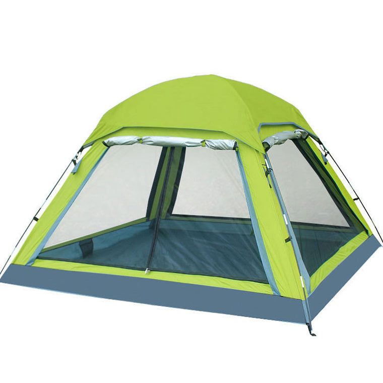 4 Season Tent for Camping 3-4 Person Camping Tent, Ultralight Waterproof 190T Polyester Fabric Double-layer Outdoor Camping Tent