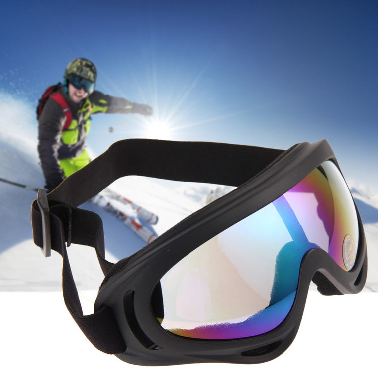 Snowboard Dustproof Sunglasses Motorcycle Ski Goggles Lens Frame Glasses UV400 Anti-fog Outdoor Sports Windproof Eyewear Glasses