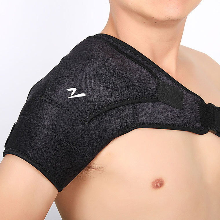 Adjustable Left/Right Shoulder Bandage Protector Brace Joint Pain Injury Shoulder Support Strap Training Sports Gym Equipment