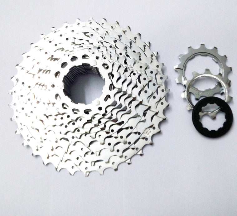 microSHIFT MTB 11T-36T Flywheels Bike 10 Speed Card Type Flywheel Bicycle 30 Speed Cassette Freewheel