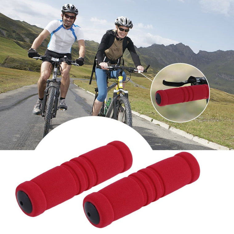 1 Pair MTB Bike Bicycle grips Handle Handlebar Soft Durable Sponge Bar Grip Covers Free Shipping