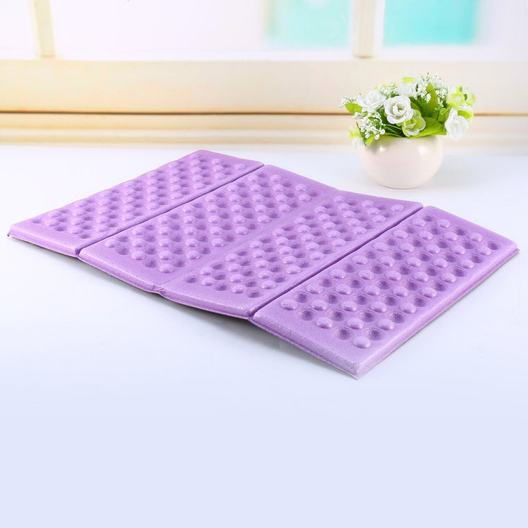 1Pcs Outdoor Foldable Camping Mat Foam Mattress Waterproof EVA Foam Cushion Moisture-Proof Camping Mattress Pad