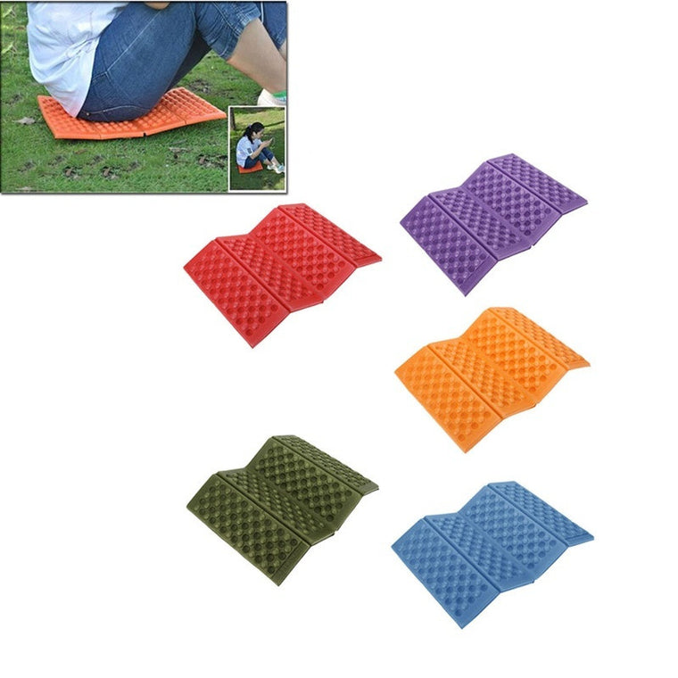 1 PC Foldable Folding Outdoor Camping Mat Seat Foam  Cushion Portable Waterproof Chair Picnic Mat Pad 4 Colors
