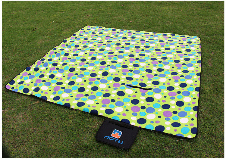outdoor camping  Aluminum Film picnic blanket waterproof picnic mat waterproof outdoor cushions