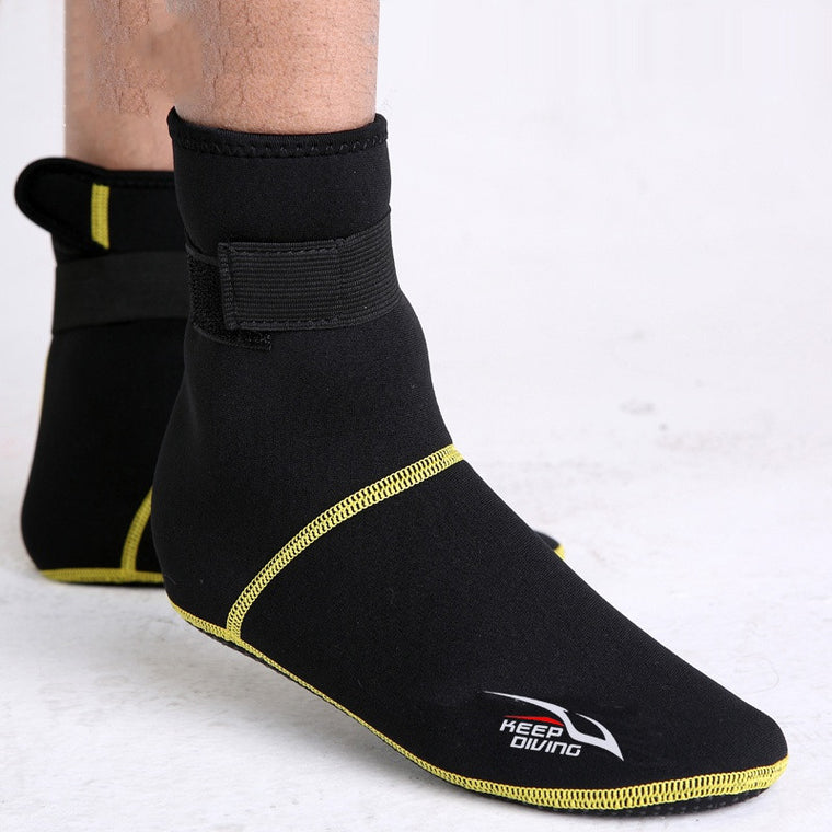Anti-Slip Bottom Beach Boots Wetsuit Winter Swimming Outdoor Adult Men Women Child Neoprene Bodiness Snorkeling Diving Socks