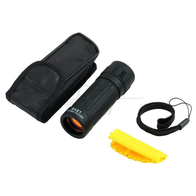 1Pc Compact Monocular Telescope Handy Scope for Sports Camping Hunting 8*21 Free Shipping
