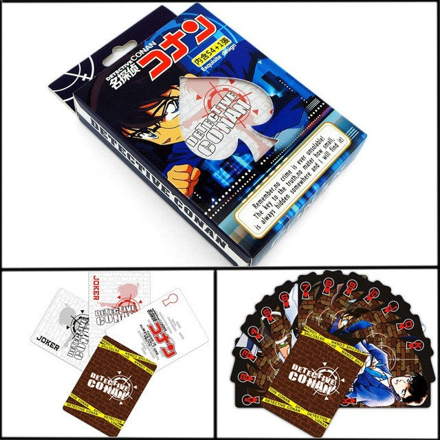 Narvto Poker Cards Entertainment  for Party Anime Comics Character Collector's Edition Playing Cards