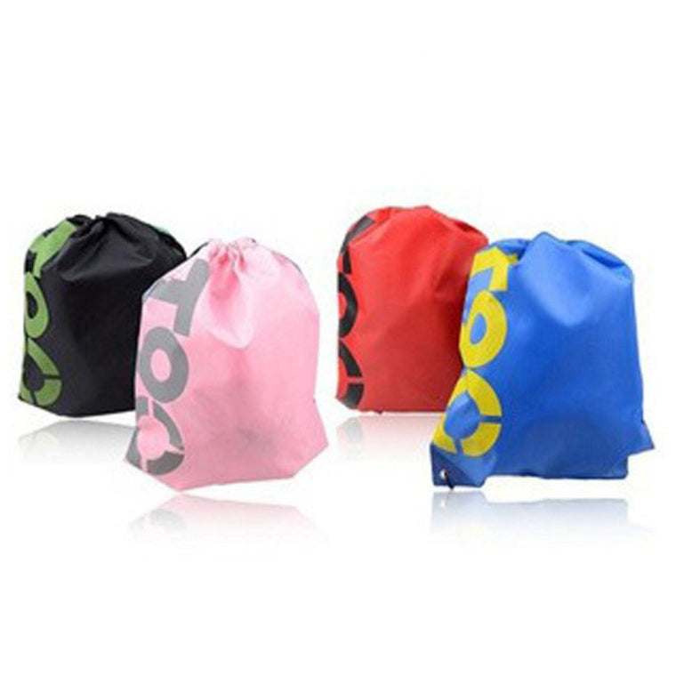 Beach Backpack New Super Light Polyester Sport Bags Mens Women Kids Backpack Swimming Drawstring Bag 4 Colors