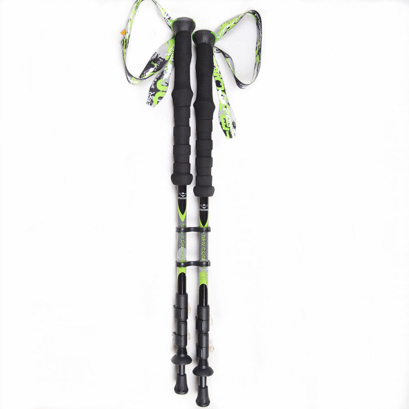 1pc/pair PIOMEER 100% High Hardness Carbon Fiber Nordic Walking Cane Trekking Poles Telescopic Sticks Alpenstock