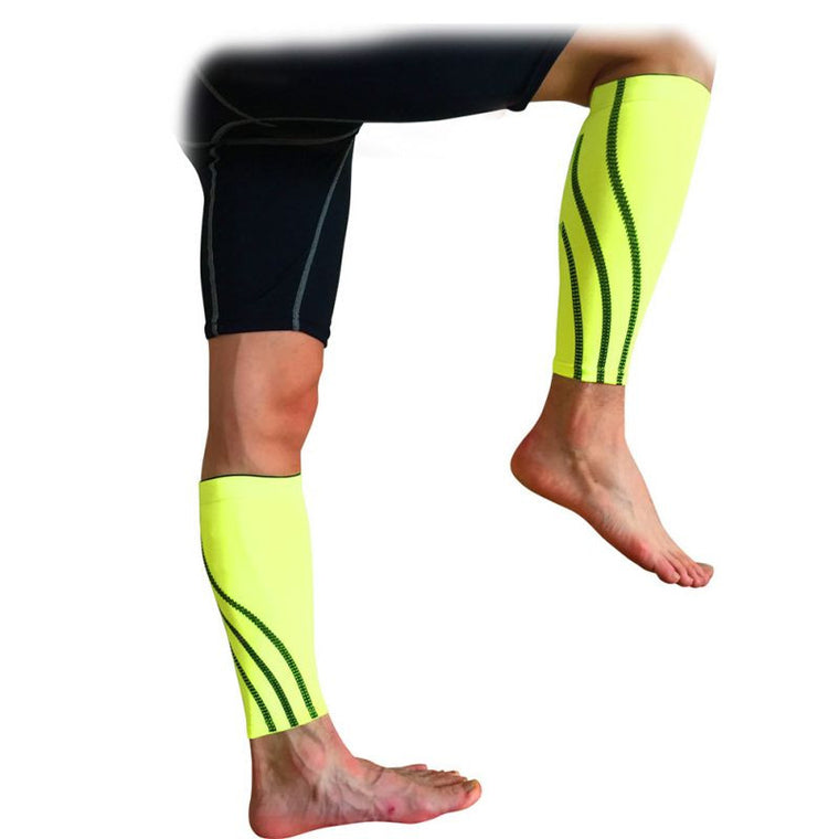 Outdoor Sport Calf Brace Support Protector Running Leg Sleeve Compression Leg Care Set 1 Piece